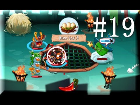 Angry birds epic final boss rescued three egg gameplay - Angry birds trio ...