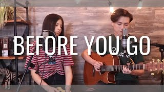 Download lagu Before You Go - Lewis Capaldi - Cover (Vocal / Fingerstyle)