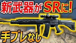 【CoD:MW】新武器がガチSR武器に!!『完全 手ブレなしのSIG SG55…