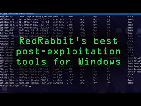 Using RedRabbit's Best Pentesting & Post-Exploitation Tools on Windows [Tutorial]
