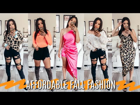 AFFORDABLE FALL 2019 FASHION HAUL: TRENDY AND CUTE