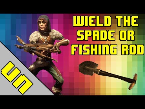 Fable: The Lost Chapters - Spade/Fishing Rod In Hand!