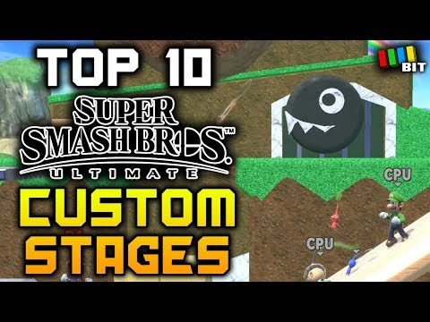 10 AWESOME Custom Stage Builder Stages in Super Smash Bros. Ultimate [TetraBitGaming]