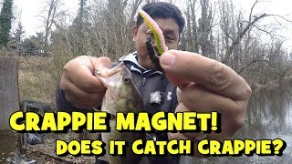 LELAND CRAPPIE MAGNET!!! Does it Catch CRAPPIE?! (NJ Crappie Fishing)