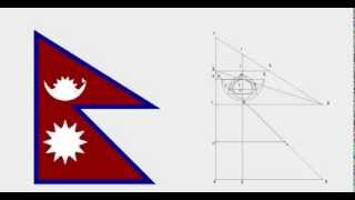 Nepal Flag Instructions Illustrated