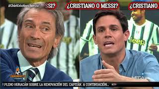 💥 BRUTAL CARA a CARA entre EDU AGUIRRE y LOBO CARRASCO por CRISTIANO y MESSI