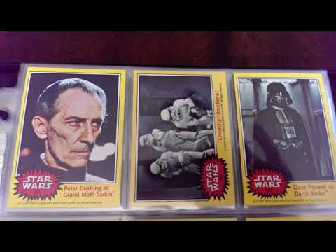 Vintage Topps Star Wars Trading Card Set