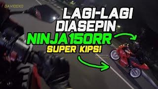 Hampir Crash Akibat Emosi - 250CC Diasepin Ninja 2 Tak! - CBR250RR vs Ninja150RR Super Kips!
