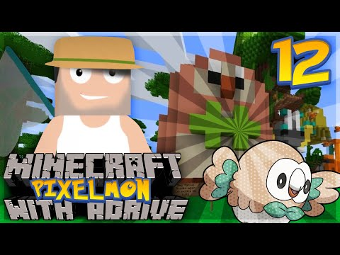 "Minecraft PIXELMON with aDrive! Ep12 ""ROWLET in PIXELMON!"" - PocketPixels Red Let's Play!"