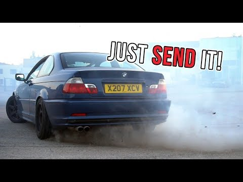 More E46 330ci drifting