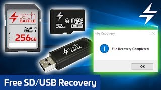 Repair & Recover Micro SD, SD Card or USB Drive FREE!