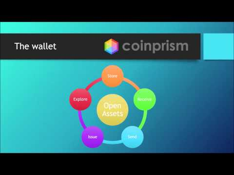 Coinprism - Create assets on the Bitcoin Blockchain using colored coins