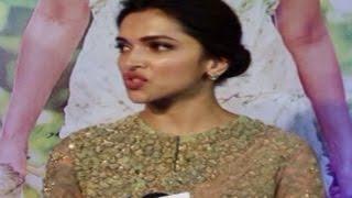 Deepika Padukone SHOUTS at a journalist