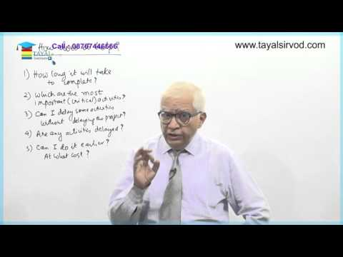 Critical Path Method of Operations Research by Prof.Madhusudan Sohani