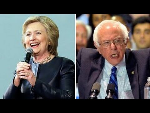 Democratic candidates campaign ahead of primaries