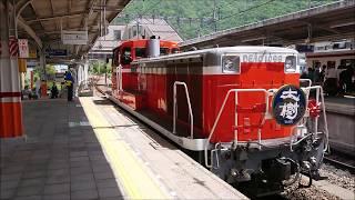 【東武】鬼怒川温泉駅での連結作業【SL大樹】