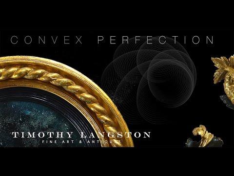 Regency Convex Mirrors at Timothy Langston Fine Art & Antiques