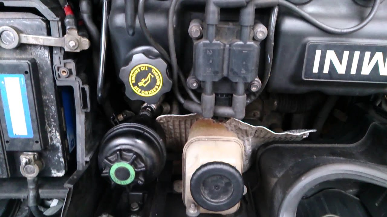 Mini Cooper R50 2002 Power Steering Pump Issue Youtube