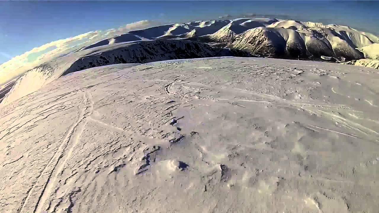 Кировск, спуск с самой высокой точке горы . Биг Вуд