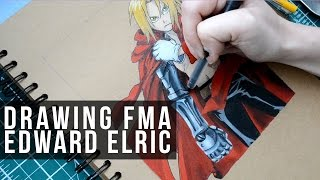 Drawing Edward Elric - Full Metal Alchemist