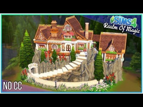 Sims 4 Speed Build - Magical Witch Cottage [Realm of Magic!] | Kate Emerald