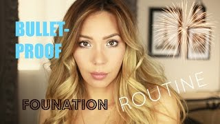 My Bullet Proof Sweat Proof Foundation Routine (Oily Skin)