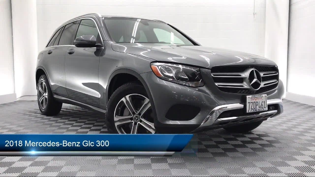 2018 Mercedes-Benz Glc 300 Glendale Burbank Los Angeles ...