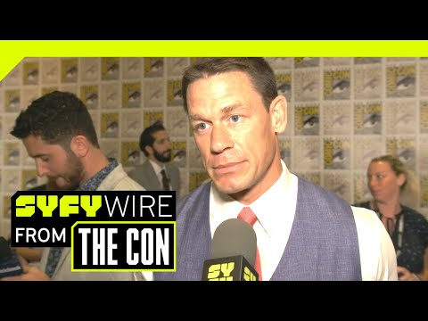 John Cena On Why He Chose Bumblebee  SDCC 2018  SYFY WIRE