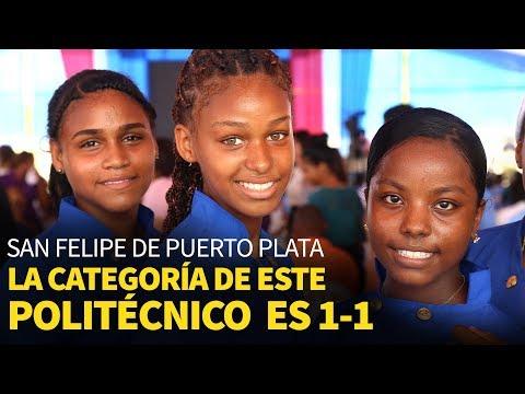 San Felipe de Puerto Plata. La categoría de este politécnico es 1-1