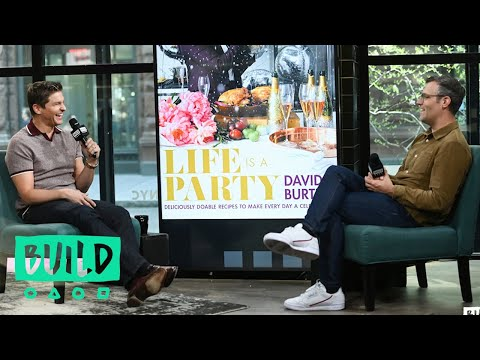 "David Burtka Chats About His Cookbook, ""Life is a Party"""
