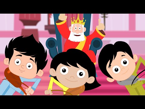 Изобрежения Old King Cole | Nursery Rhyme And Kids Song For Children | Kids TV
