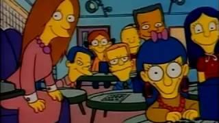 Bart va dans une école de génies - Les Simpson QC