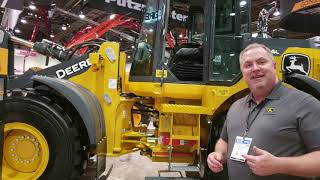 Video still for John Deere 544L Wheel Loader at World of Concrete 2019