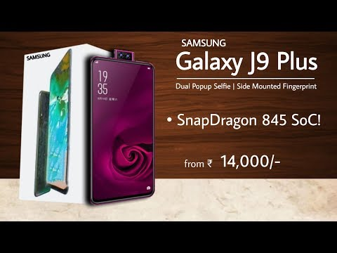 samsung-galaxy-j9-plus---snapdragon-845,-64mp-dual-popup-camera,-5000-mah,-side-mounted-fingerprint