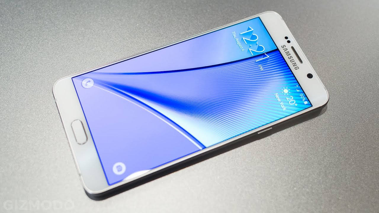 The Four Things You Need to Know About the New Galaxy Note 5