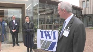 Her Royal Highness The Princess Royal opens new laboratories at TWI
