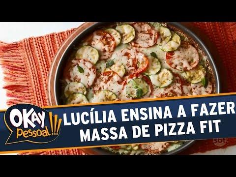 Okay Pessoal!!! (11/07/16) - Lucília Diniz ensina a fazer uma massa de pizza fit