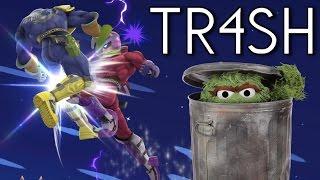 TR4SH - A Smash 4 Mod
