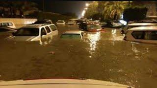 🔴سيول الكويت، امطار غزيرة تغرق منزل مواطن كويتي .