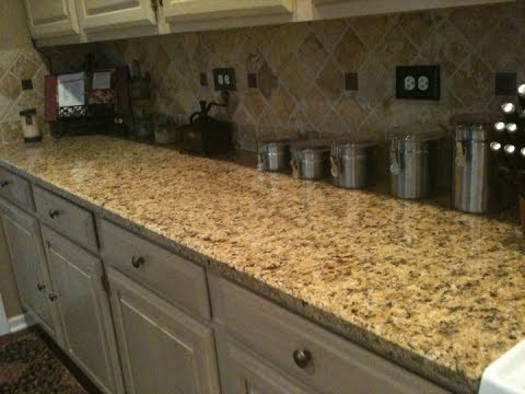 Venetian Gold Granite Countertops Youtube