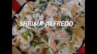 Shrimp Fettuccine Alfredo  Episode #58