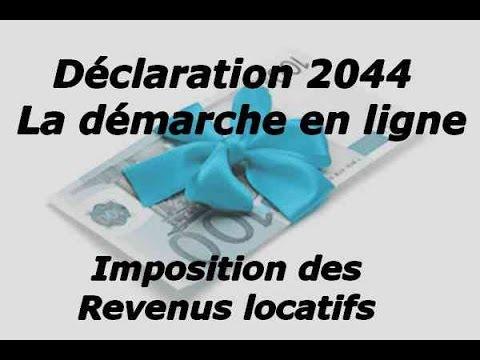 Declaration Des Revenus Fonciers En Ligne 2044 Detail De Toutes