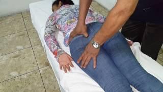 Quiromasajes para aliviar inflamación al nervio ciatico y dolores lumbares y de piernas