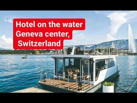 Relax Boat in the center of Geneva, Switzerland!