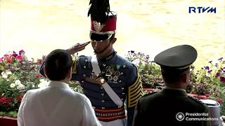 Commencement Exercises of the Philippine Military Academy (PMA) 'ALAB TALA' Class of 2018
