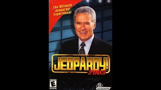 Jeopardy! 2003 PC 2nd Run Game #4