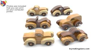 Wood Toy Plans Fat Fendered Freaky Fords