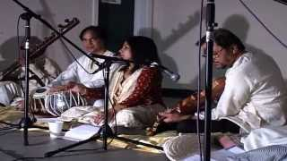 Chandra Chakraborty:Kirwani (Thumri) in Lyrics of Solitude by Saudha