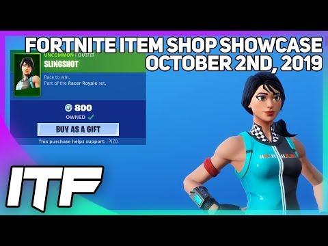 Fortnite Item Shop *NEW* SLINGSHOT SKIN + WRAP! [October 2nd, 2019] (Fortnite Battle Royale)