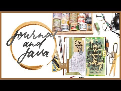 Journal and Java Ep. 3 | Journal with Me